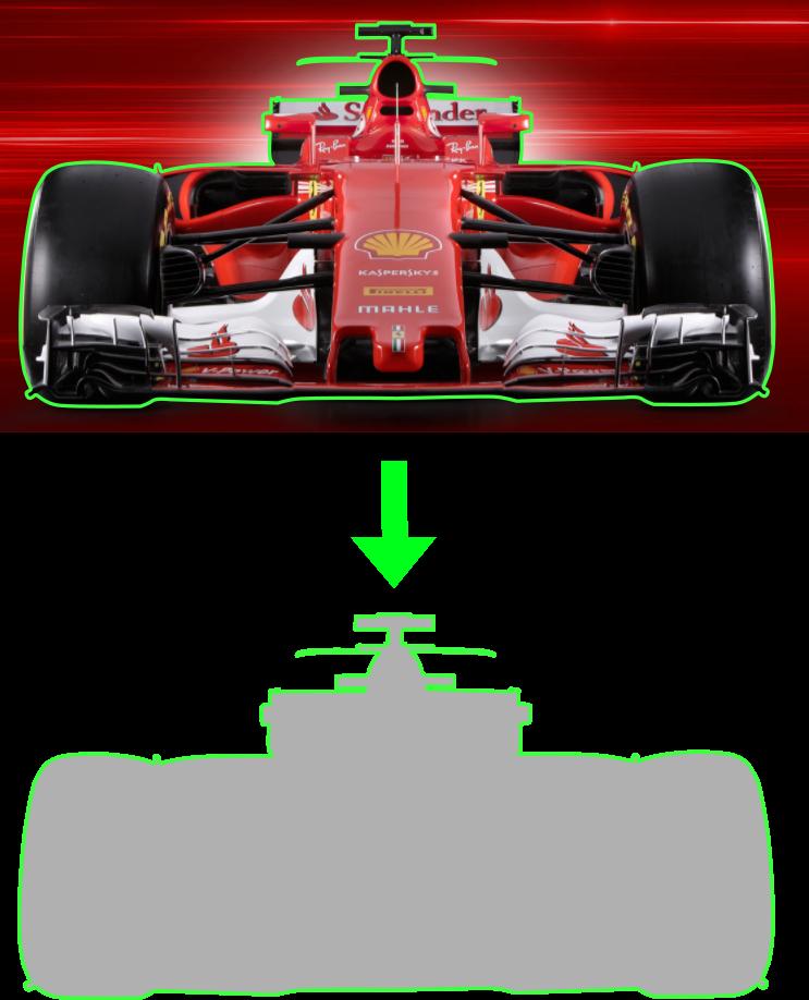 Superficie frontal para entender aerodinámica