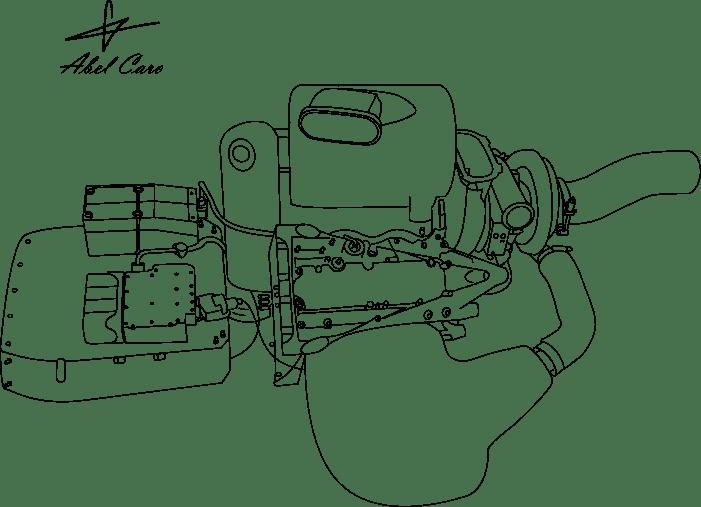 Motor y unidad de potencia Renault F1
